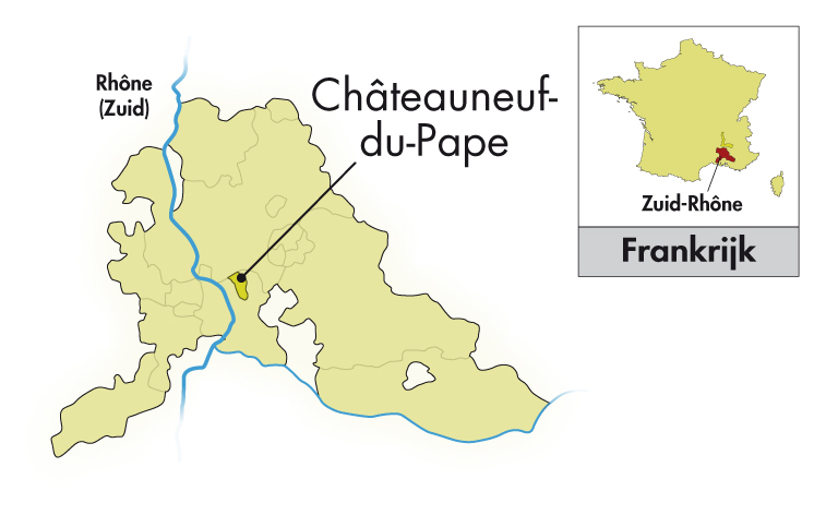 Le Clos du Caillou Côtes du Rhône Le Bouquet des Garrigues wit