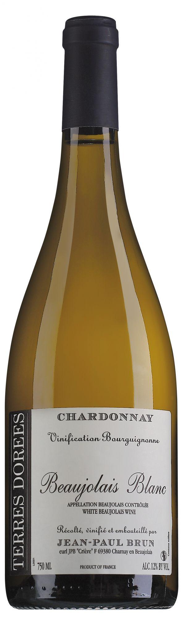 Jean-Paul Brun Terres Dorées Beaujolais Blanc Vinification Bourguignonne