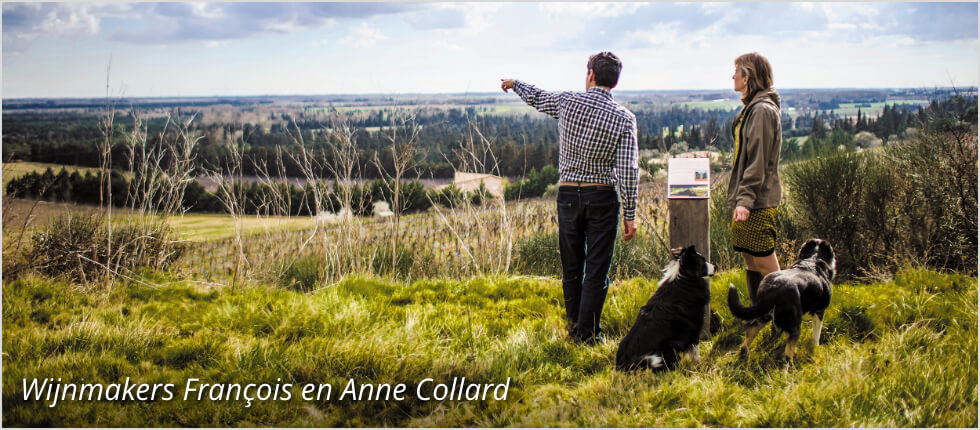 Wijnmakers François en Anne Collard